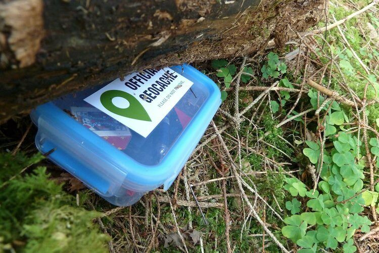 Geocaching Container