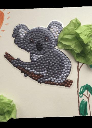 Koala Beaded Picture