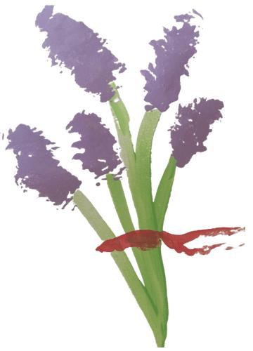 Flowers Toothbrush Artwork